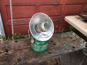 SCARCE COLEMAN MODEL 519 RADIANT HEATER Dated 1/83