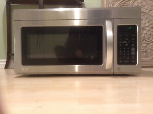 LG over the stove microwave