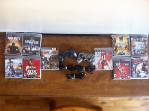 PS3 Games, Controllers and Chargers - VARIOUS PRICES