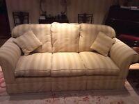 Laura Ashley three seater sofa