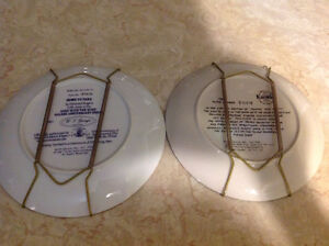 """4 """"Gone With The Wind"""" collector plates Peterborough Peterborough Area image 2"""