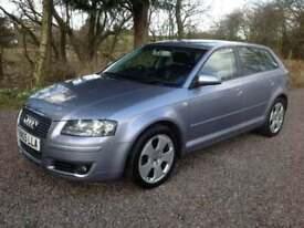 Audi A3 2.0T FSI Sportback quattro Sport, very clean car with genuine 96k, RARE