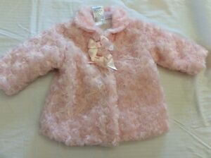 Pink 6 month baby girl jacket. Size 8kg/6 months. Adorable!!!