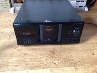 Rare Sony mega storage CD player 200 disc hifi separate CX 235