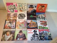 Collection of classic comedy vinyl records albums LPs. Hancock, Goons etc