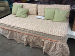 Day Bed with Cushions