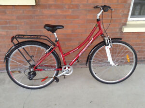 HYBRID CITY BIKE -7 Speed Infinity Boss H-Four Hardtail