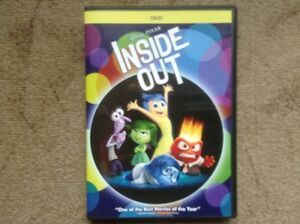 DVD Inside Out Disney