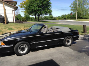 1987 mustang G.T. Convertible $5000 or b.o. Before storage
