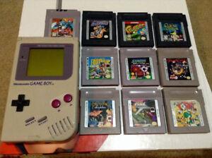 Original Nintendo GameBoy w/Games!!!