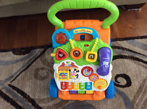 Interactive toy and walker