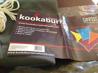 Kookaburra 3.6m triangle party sail shade in charcoal grey