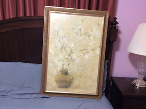 Beautiful framed picture for sale $60