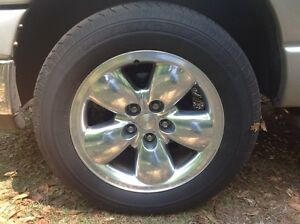 20 inch dodge ram rims and tires