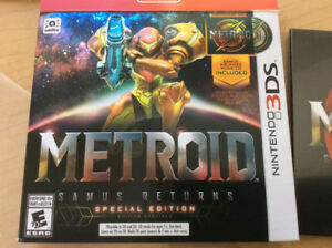 Metroid 3DS Special Edition Game and Strategy Guide.