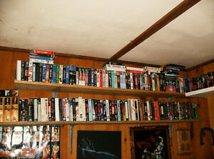 Over 400 Gently Used VHS Movies / 80s / 90s / $300 for the lot!