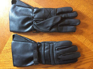Ladies biker gloves