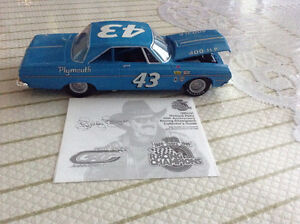 FOR SALE:  NASCAR RICHARD PETTY #43 - 1964 PLYMOUTH BELVEDERE