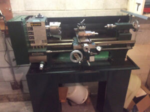 Craftex Metal Lathe and Accessories