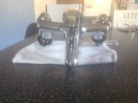 Bath or basin mixer taps brand new