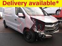 2015 Vauxhall Vivaro 1.6CDTi Sportive 2900 L2H1 DAMAGED REPAIRABLE SALVAGE