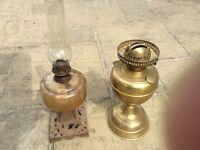 Parrafin oil lamps