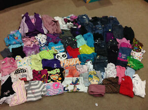 Girls size 4-5 mostly size 5 London Ontario image 1