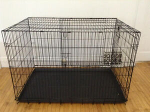 Large Dog crate - ( like new ) 42L - 28W - 30H - $80 firm