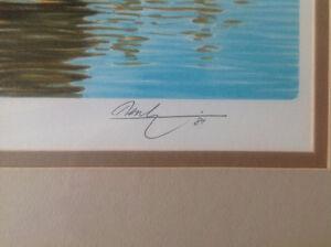 2 Lithographies Ken Danby - 1980 Certificat authenticité. Saguenay Saguenay-Lac-Saint-Jean image 6