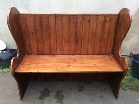 Settle Bench, rustic, shabby chic