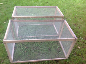 2 LARGE SIZE RABIT CAGES OR FOR ANY SMALL ANIMALS - $25 EACH