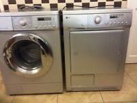LG washer & a condensed dryer spares and repair