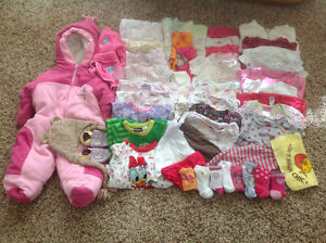 Baby Girl's Clothes - 6 to 9 Months