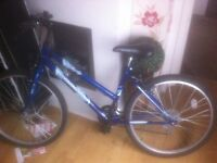 Girls bike all working fine grate for getting to work or gift