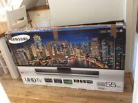 "Samsung 55"" 4K UHD SMART TV"