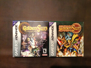 Golden Sun GBA Lot CIB Peterborough Peterborough Area image 1