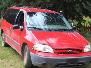 2001 Ford Windstar Minivan, Van Williams Lake Cariboo Area image 1