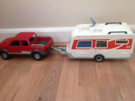 Playmobil Car & Caravan.