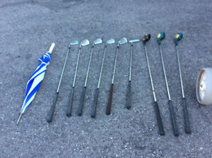 Ladies right handed Spalding Golf Clubs