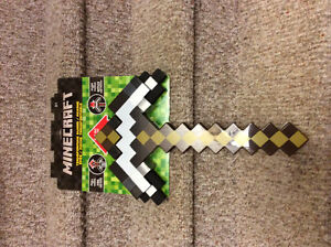 New! Minecraft transforming sword/pick axe