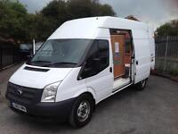 Ford Transit 2.2TDCi 350 lwb high roof tacho fitted