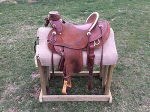 Heavy Duty Wade Ranch Saddle