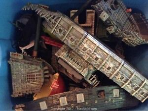 Pirates of the Carribbean Lego Mega Blocks Ships and Accessories