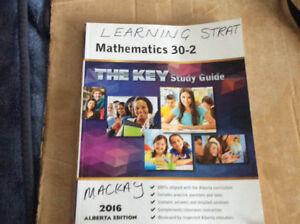 MATH 30-2 THE KEY STUDY GUIDE MATH BOOK