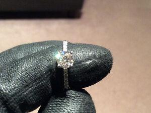 Engagement Ring 1.07 CTW Brilliant Cut! NEW!