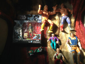 Misc figures lot.. Star Wars dick Tracy