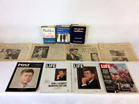 JFK Collection, Magazines, News Papers, Books