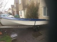Seafly sailing boat 14ft in need of repair
