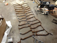 Full Set of Truck Tire Chains