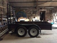 Plant and builders trailer 10x5 feet
